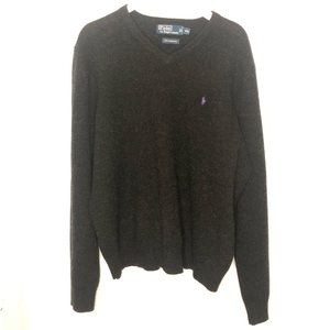 Polo Ralph Lauren Wool Crew Neck Pullover Sweater